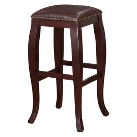 Strange Linon Claridge Bar Stool 30 Inch Seat Height Multiple Colors Andrewgaddart Wooden Chair Designs For Living Room Andrewgaddartcom