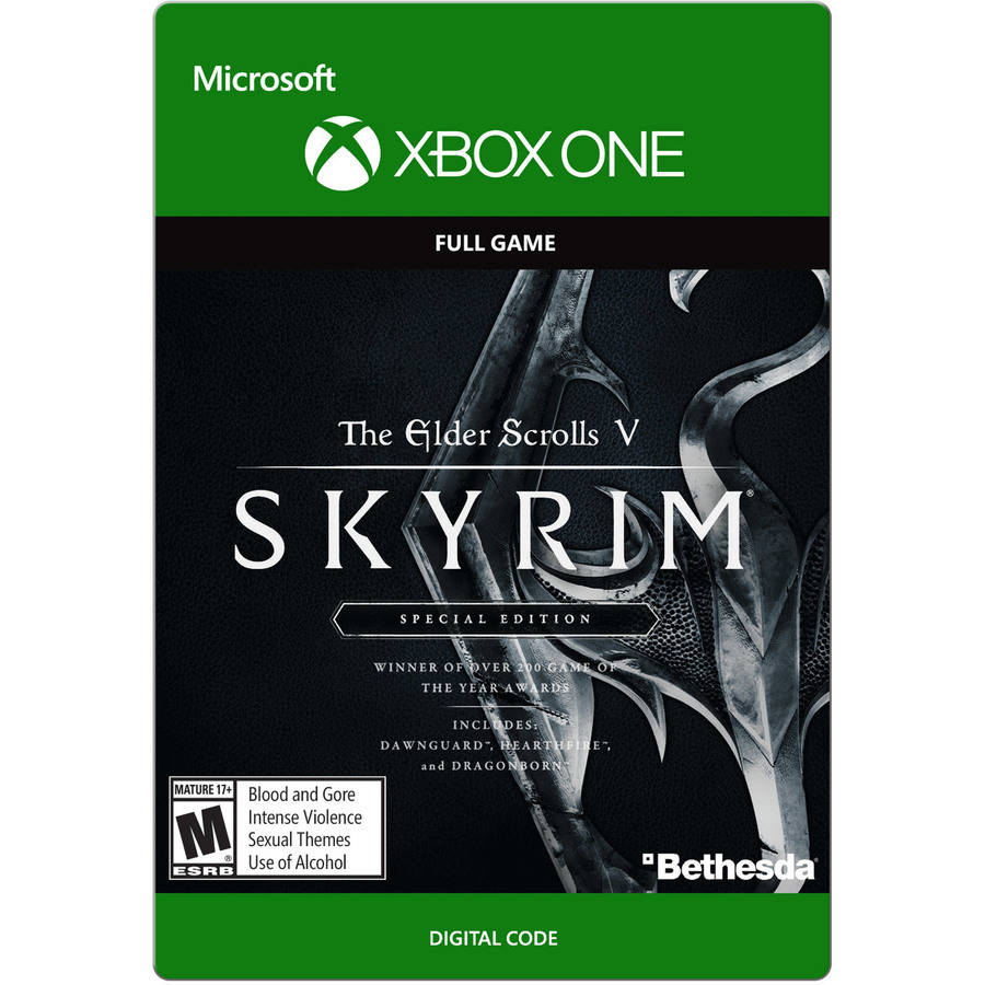 Skyrim Special Edition Digital Download Code for Xbox One