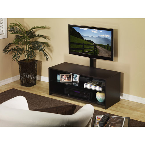 Omnimount Sedona Ebony TV Stand with Mount, for TVs up to 42""