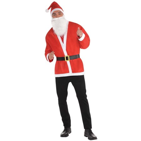 Santa Claus Mens Adult Christmas Holiday Saint Nick Costume - Nick Costumes
