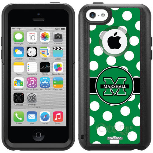 Marshall Polka Dots Design on OtterBox Commuter Series Case for Apple iPhone 5c
