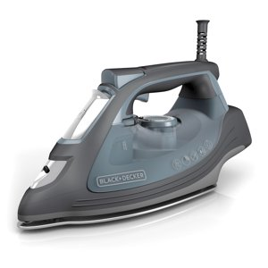 BLACK+DECKER IMPACT Advanced Steam Iron with Maximum Durability and 360 Degree Pivoting Cord, Gray, IR3000