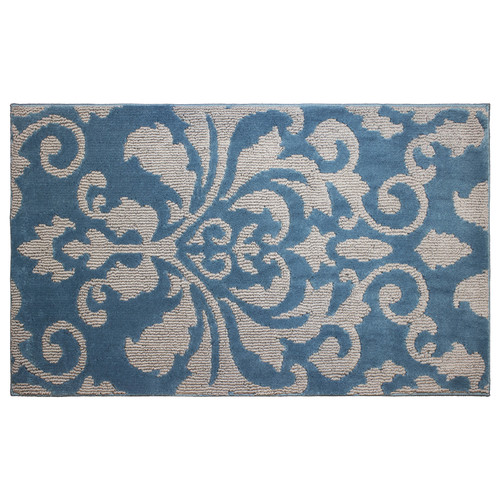 "Jean Pierre Cut and Loop Rox 28"" x 48"" Textured Decorative Accent Rug"