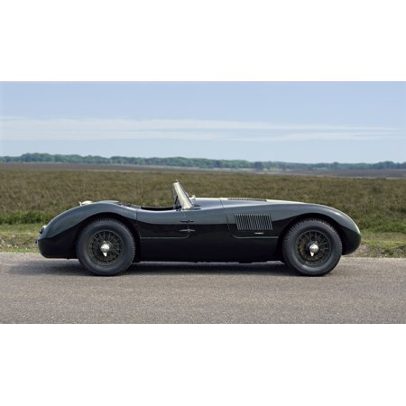 1953 Jaguar C-Type 35 litre sports 2-seater Country of origin United Kingdom Stretched Canvas - Panoramic Images (24 x