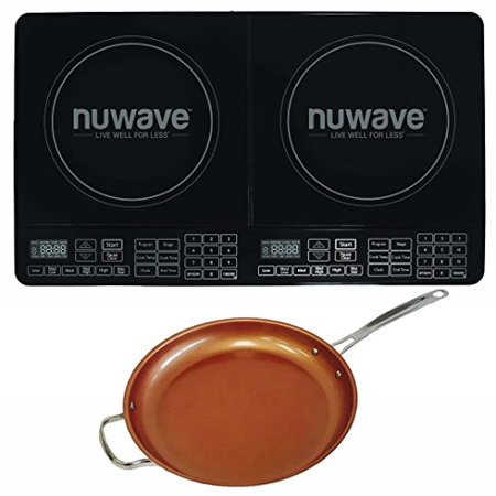 Nuwave Double Precision Induction Cooktop Burner W 12