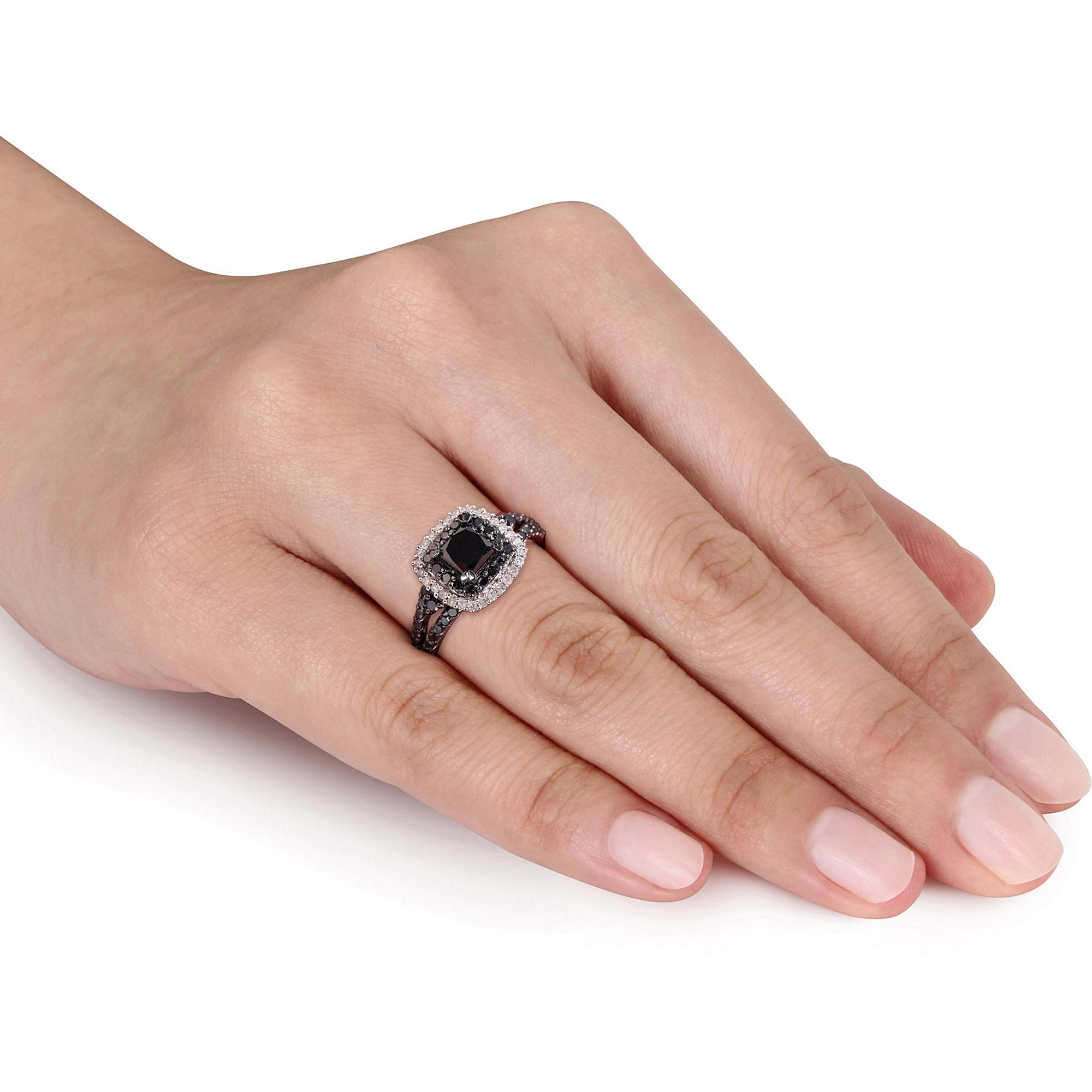 Elegant 2 Ct Princess Cut Wedding Rings
