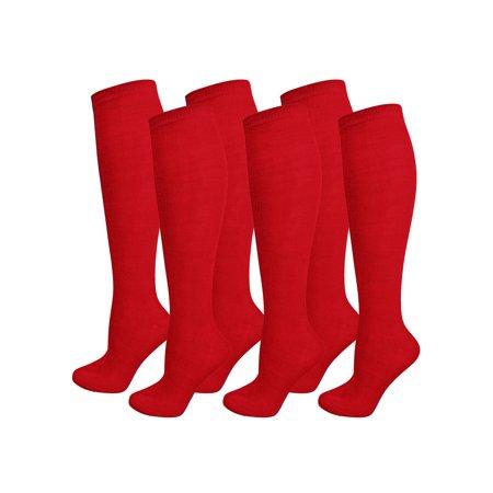 6 Pack Bundled Lot Knee High Socks For Women](Michael Jackson Socks For Sale)