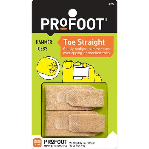PROFOOT Toe Straight Toe Wrap, 1 pr