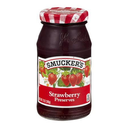 Smucker's Preserves Strawberry, 12.0 OZ