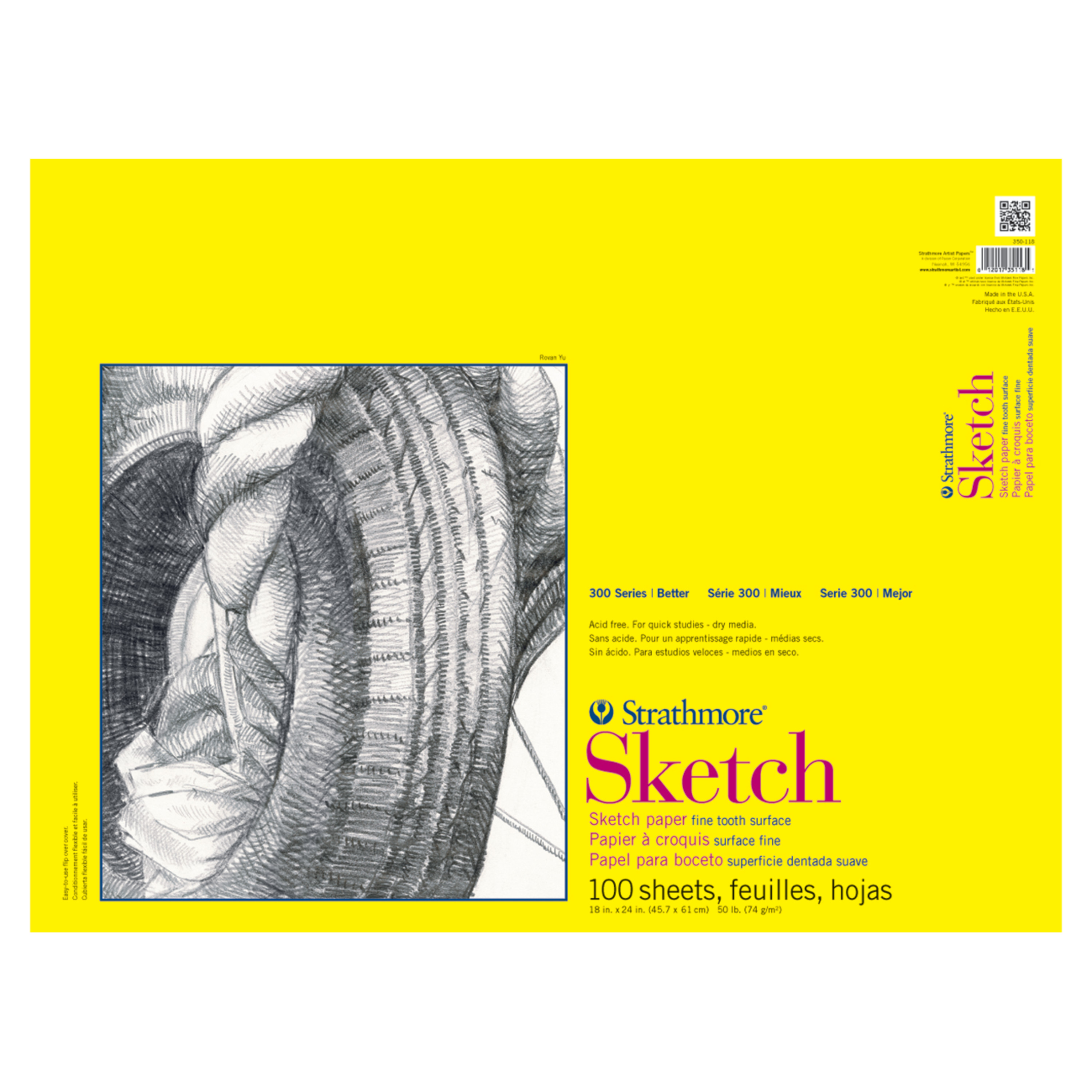 "Strathmore 11"" x 14"" Wire Bound Sketch Pad, 1 Each"