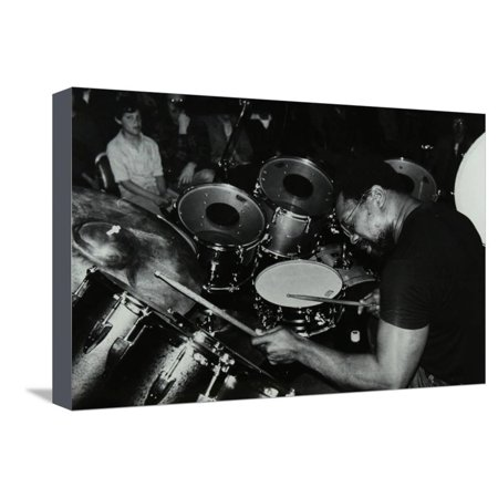 Billy Cobham Conducting a Drum Clinic at the Horseshoe Hotel, London, 1980 Stretched Canvas Print Wall Art By Denis Williams ()