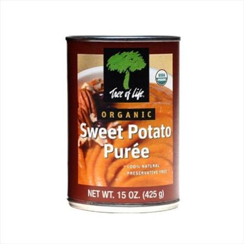 Puree Sweet Potato Organic 15 OZ (Pack Of 12)