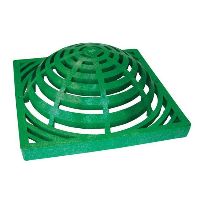 1280 12 in. Green Heavy Duty Atrium Drain Grate