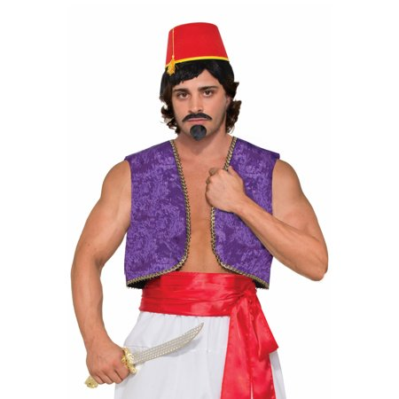 Genie Vest Adult Costume (Purple) (Genie Costumes For Teens)