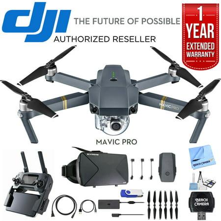 DJI Mavic Pro Quadcopter Drone with 4K Camera and Wi-Fi ...