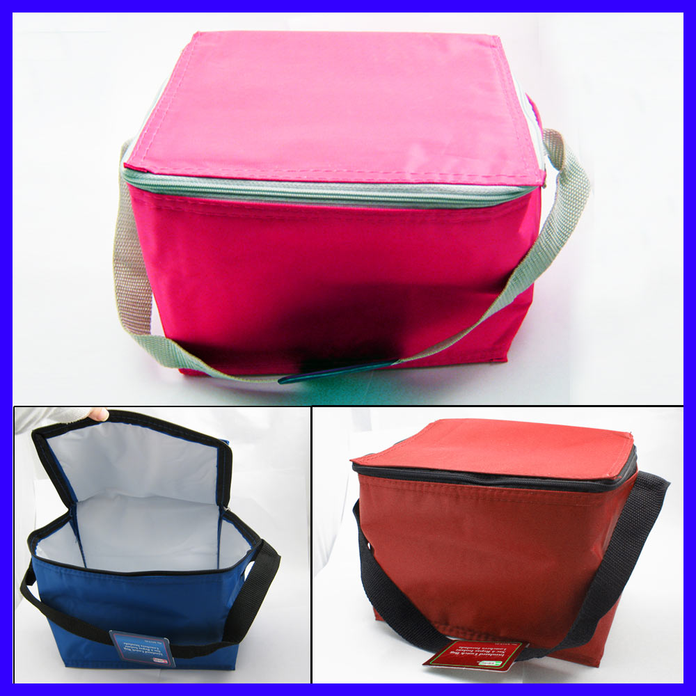 New Deluxe Lunch Bag Cooler Large Box Insulated Shoulder Strap Waterproof Tote !