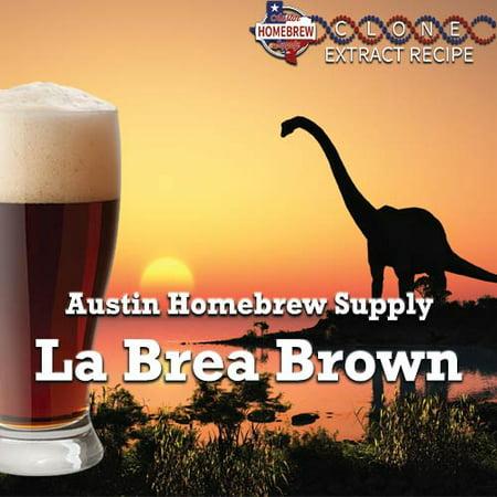 Austin Homebrew Clone Recipe La Brea Brown (10C) - EXTRACT](Party City Brea)