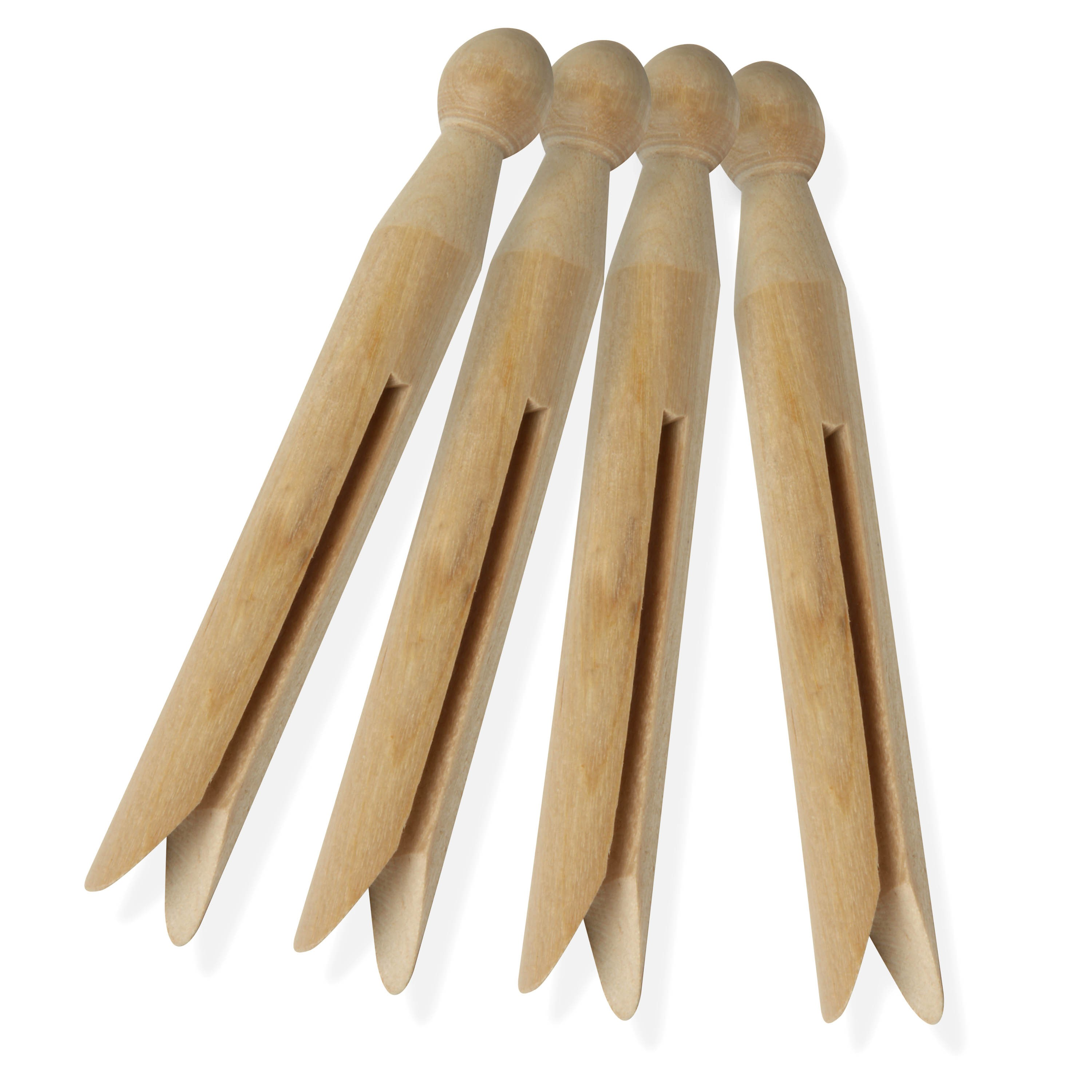 Honey Can Do Traditional Wood Clothespins (Pack of 24)