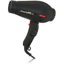 Twin Turbo 3800 Professional Hair Dryer 2100 Watt Ionic and Ceramic Model 3800 Black