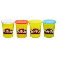 Play-Doh 4-Packs, 16 Oz: Classic or Bright Colors