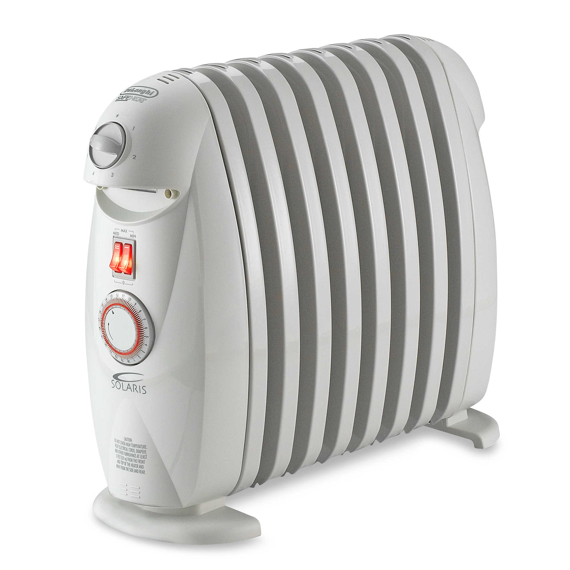 DeLonghi Ceramic Tower Electric Space Heater With Remote Control Refurbished