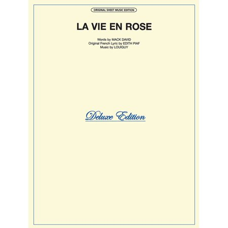 La Vie En Rose Sheet Music -