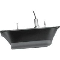 Garmin 010-12760-10 Transducer, CV23M-TH, Thru-Hull with Fairing block, CHIRP-Mid Frequency with ClearVu, with 8-pin plug