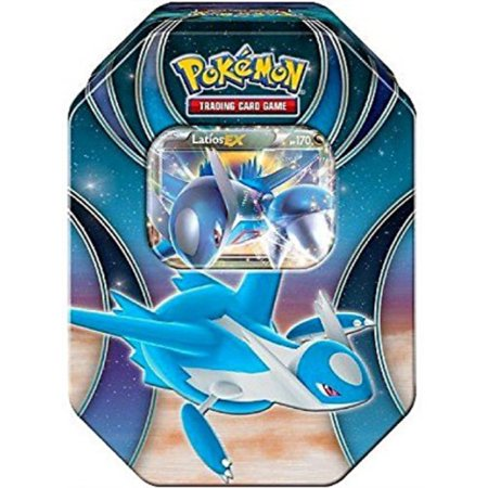 2016 Pokemon Trading Cards Best of EX Tins Featuring Latios Collector