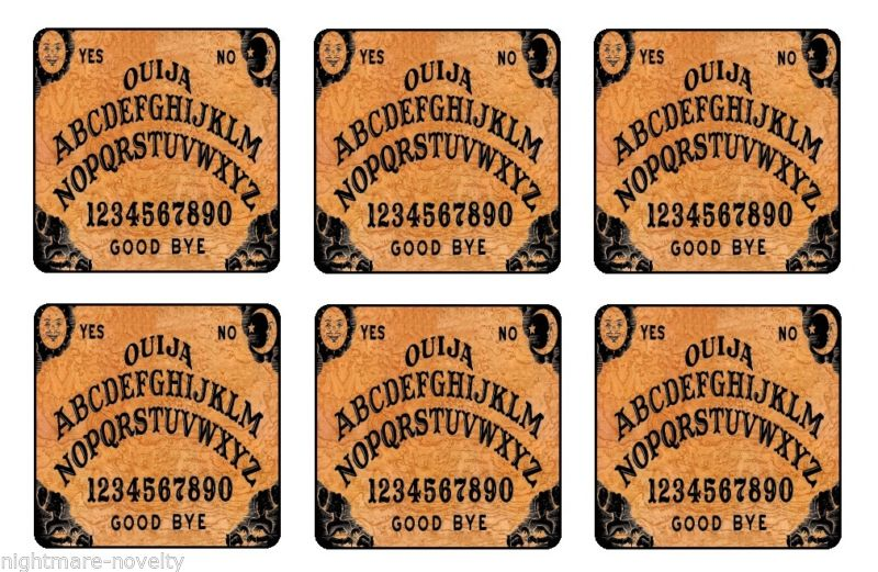 """FRIDAY THE 13TH COASTERS 1//4/"""" BAR /& BEER SET OF 6"""