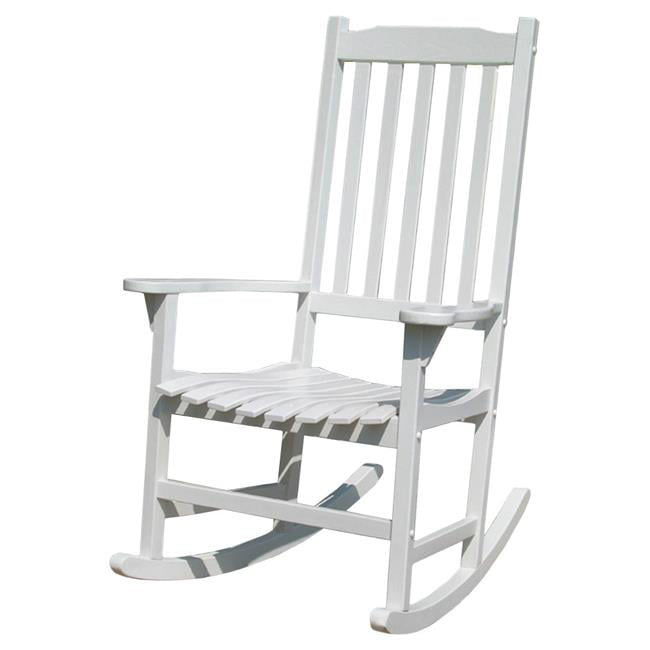 Traditional Rocking Chair White