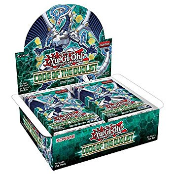 Yu-Gi-Oh! CCG: Code of the Duelist Booster Display Box -9 Cards per Pack (New 2017 Release)