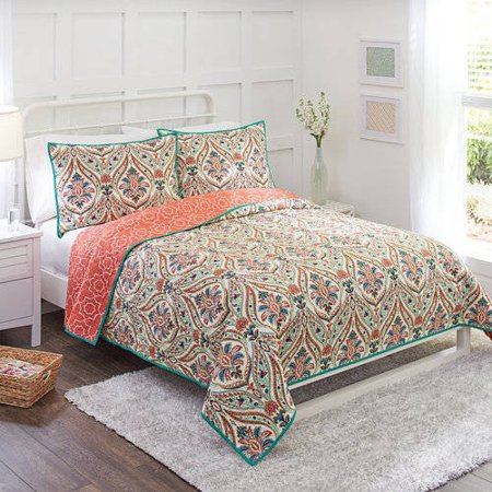 Better Homes And Gardens Jeweled Paisley Quilt Collection