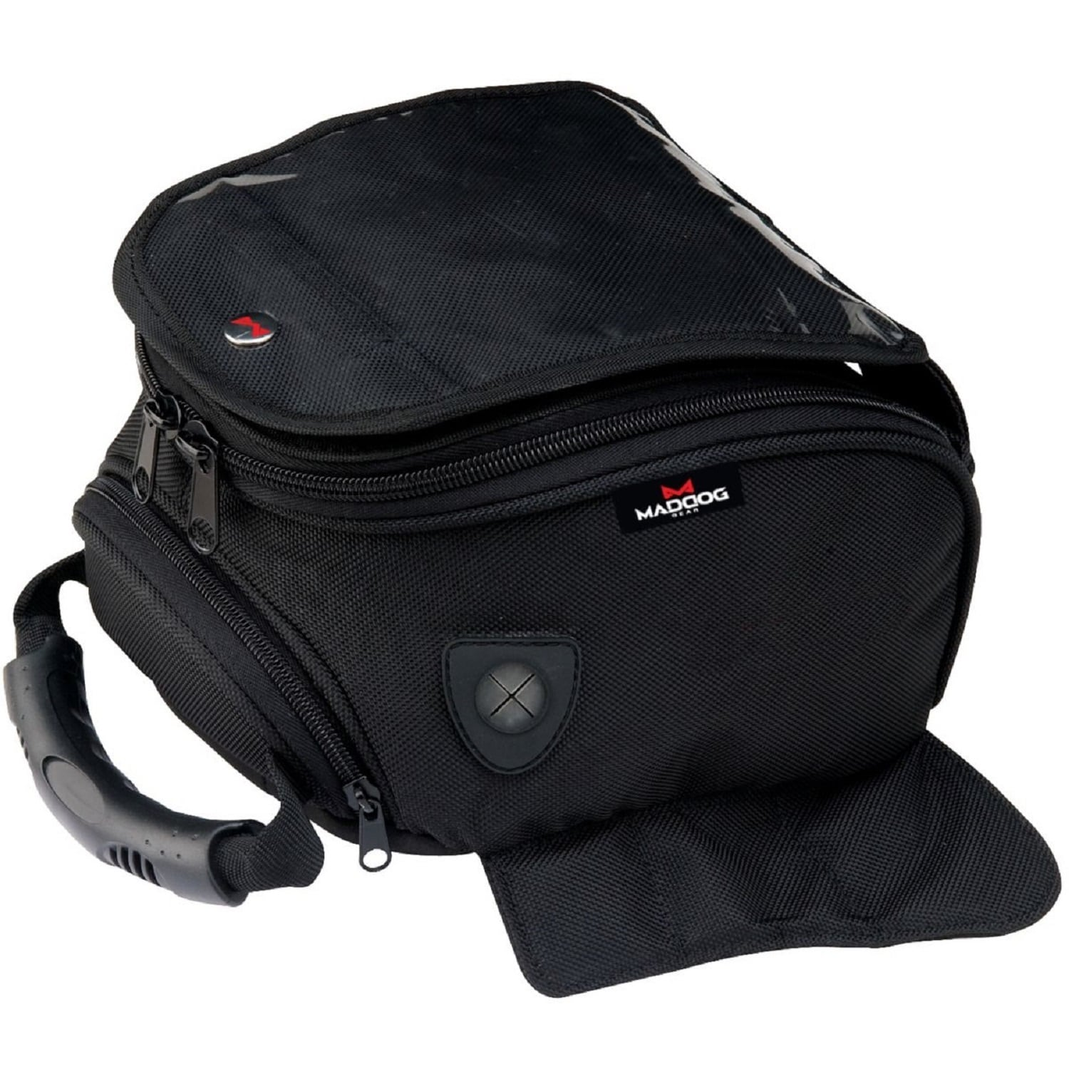 Small Magnetic Motorcycle Tank Bags Blue with Cell phone pocket
