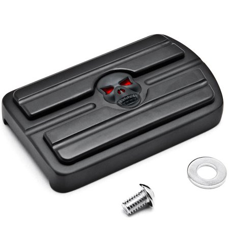 Black Brake Pedal Pad Cover Black NonSlip Rubber For Kawasaki Vulcan 900 Classic 2006-2015 - image 3 of 3