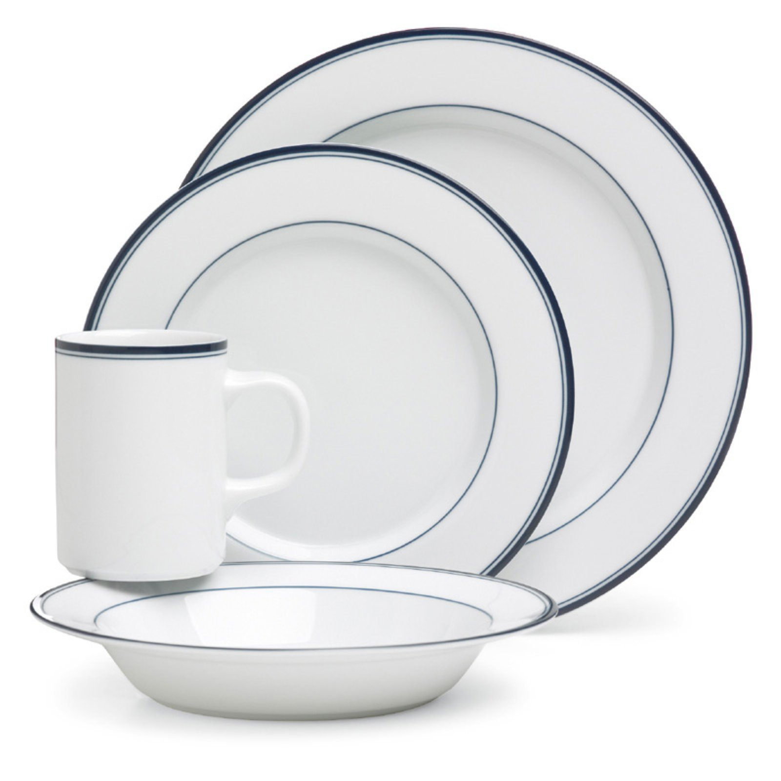 Dansk Concerto Allegro Blue 4-Piece Place Setting