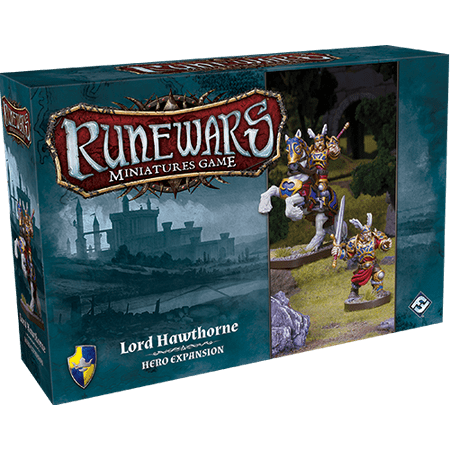 Runewars: Lord Hawthorne Hero Strategy board Game Expansion Pack