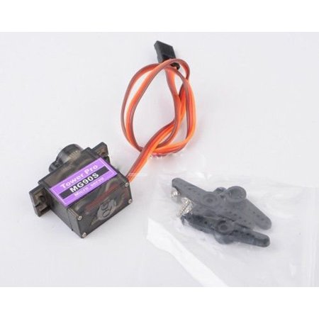 1pcs MG90S Metal Geared Micro Tower Pro Servo For Plane Helicopter Boat (Tower Pro Servo)