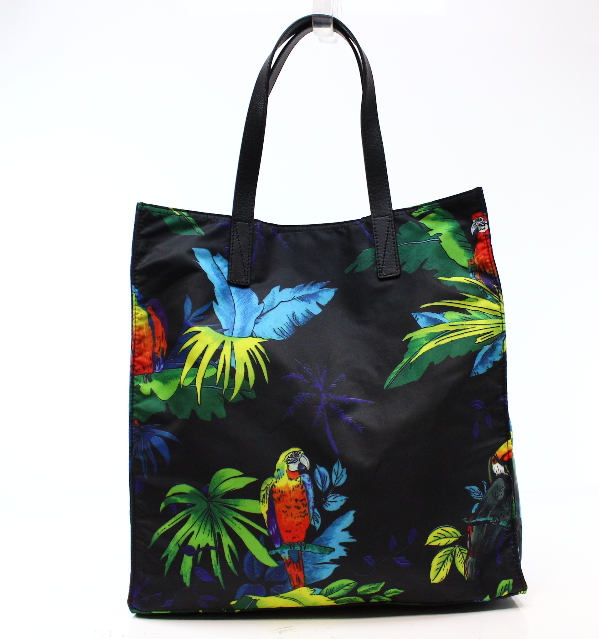 Marc Jacobs NEW Black B.Y.O.T Parrot Large Square Shoppin...