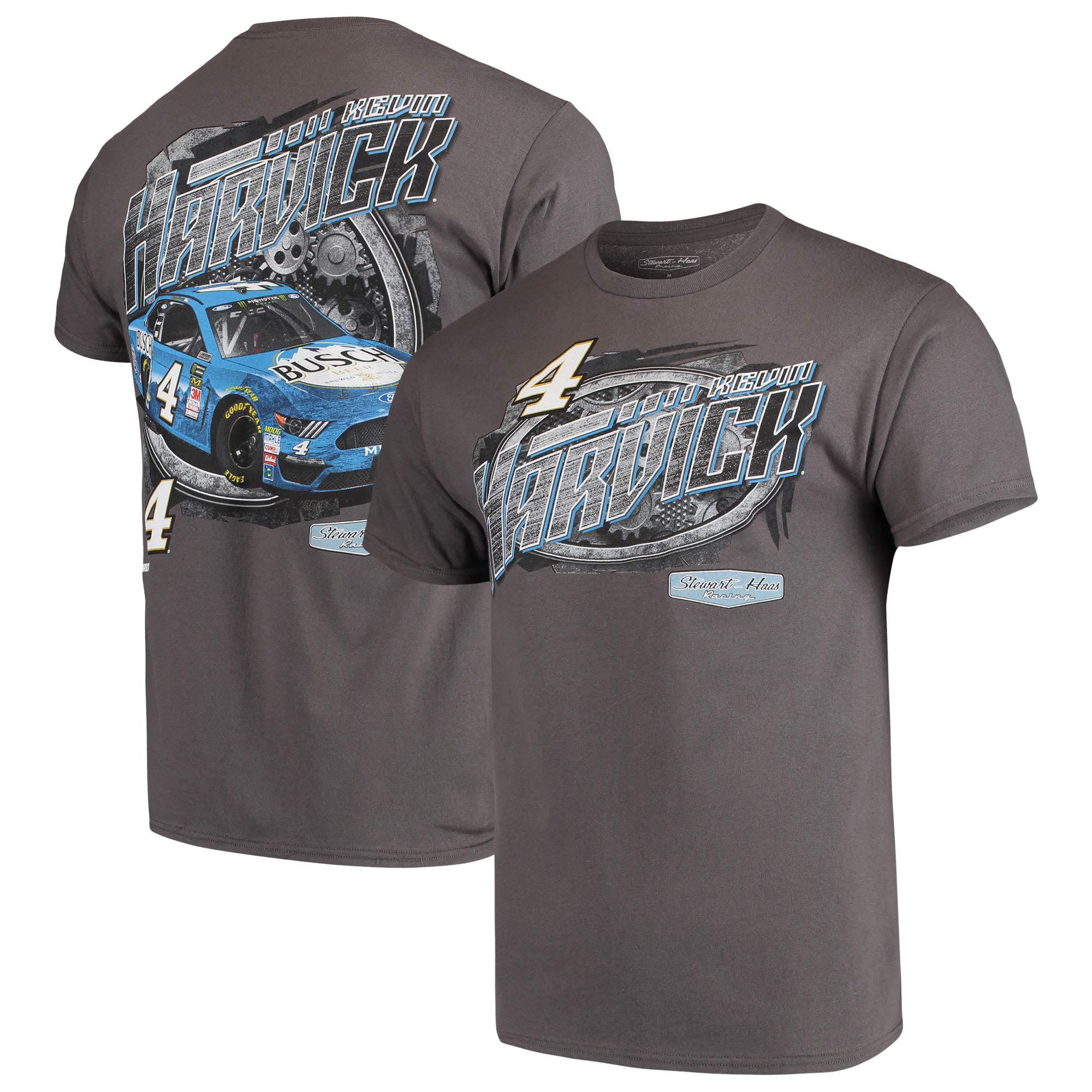 Kevin Harvick Steel Thunder Driver T-Shirt - Charcoal