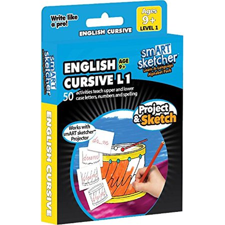 smART sketcher SD pack English Cursive language USA English Box ()