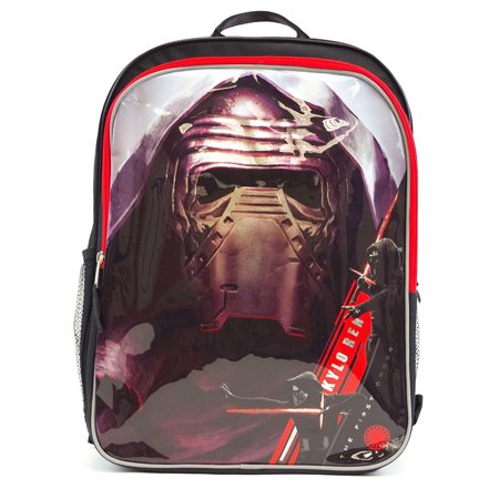 Disney Star War Kylo Ren 16-inch Kids School Backpack Bag - Black