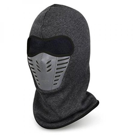 Vbiger Balaclava Ski Mask Windproof Ski Cap for Skiing   Snowboarding    Cycling (Grey) - Walmart.com 0ff201c29