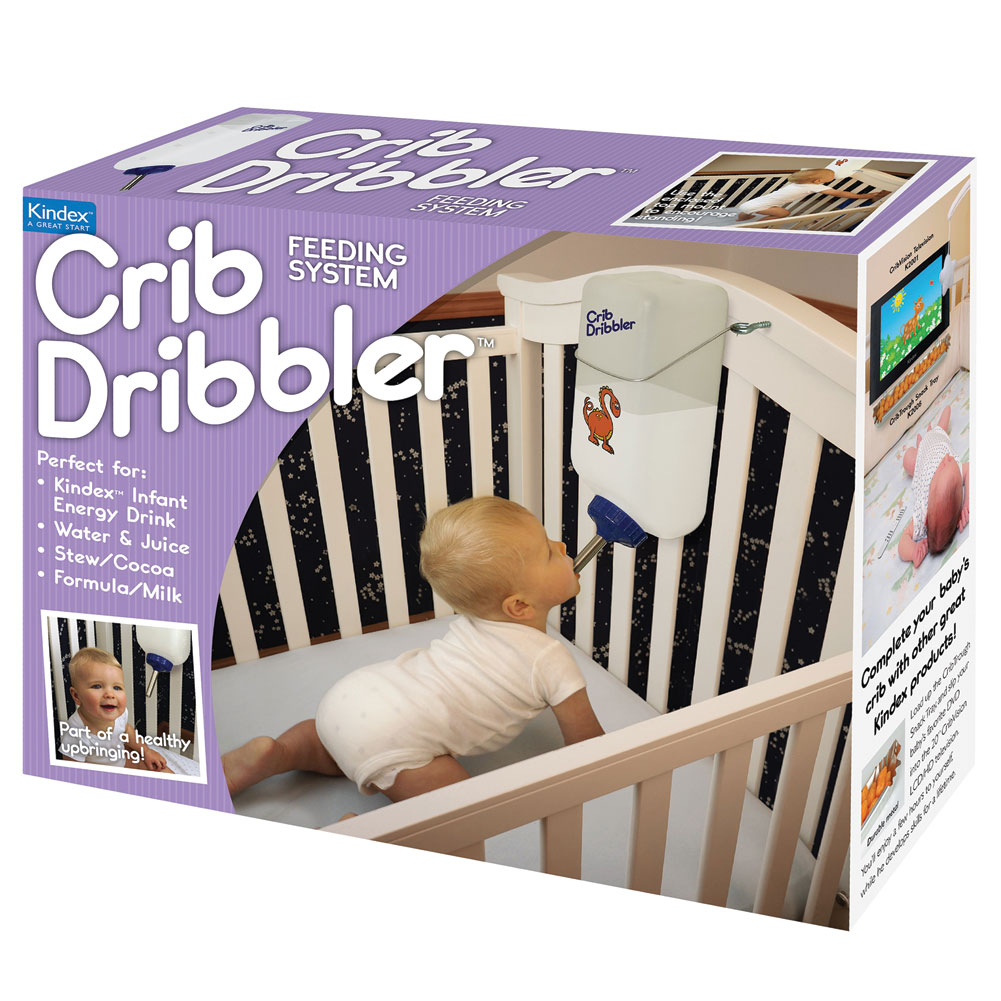 Funny Genuine Fake Prank Gift Box - Crib Dribbler Infant Drip Feeder