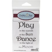 "Prickley Pear Cling Stamps 2""x3""-Light Of The Moon"