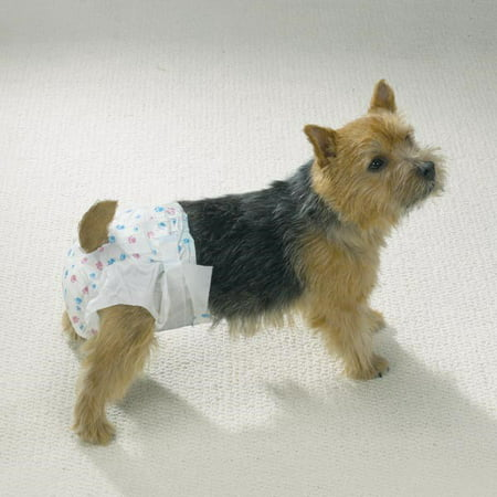 Clean Go Pet Disposable Leakproof Doggy Diapers, XS