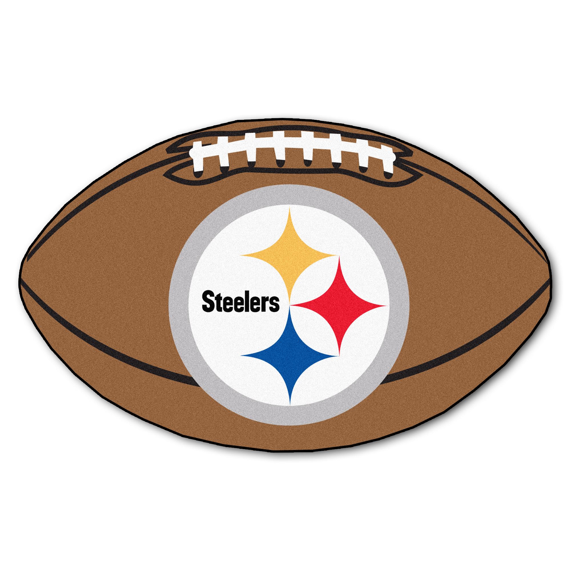Pittsburgh Steelers Football Mat