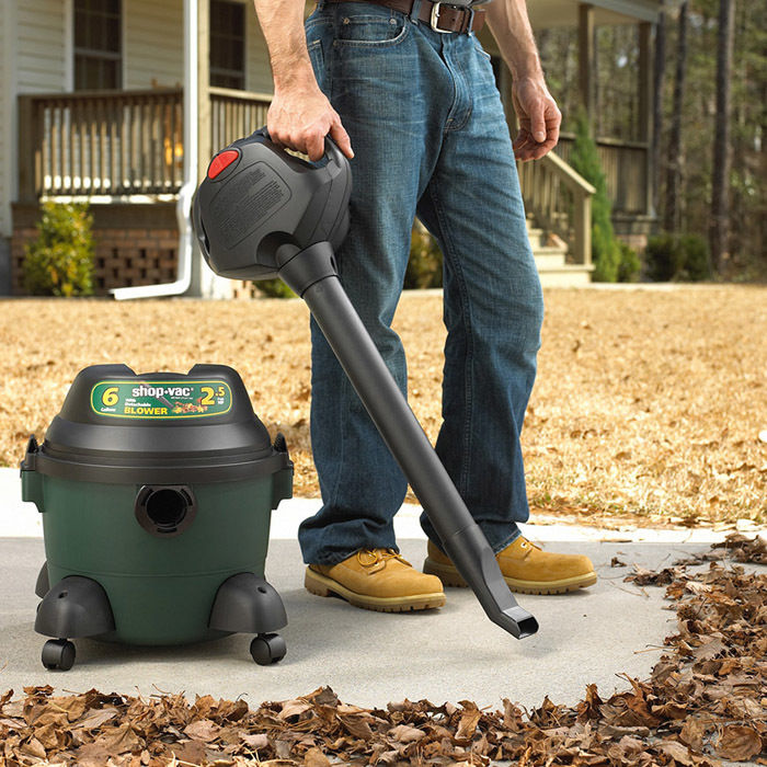 6 Gallon 2.5 Peak HP Vac with Portable Blower