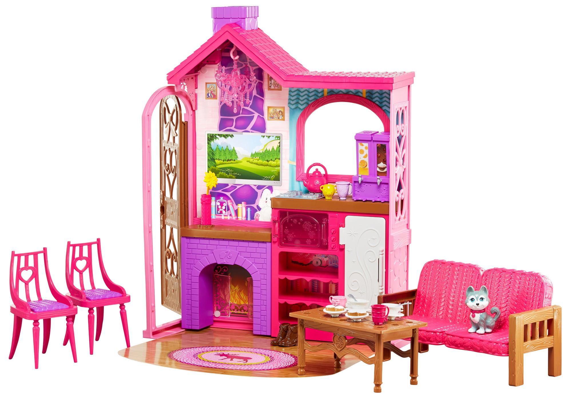 Barbie Camping Fun Cabin Playset by MATTEL INC.
