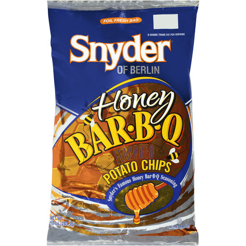 Snyder of Berlin Honey Bar-B-Q Potato Chips, 10 oz