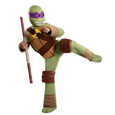 Teenage Mutant Ninja Turtles Boys Donatello Costume with TMNT Mask